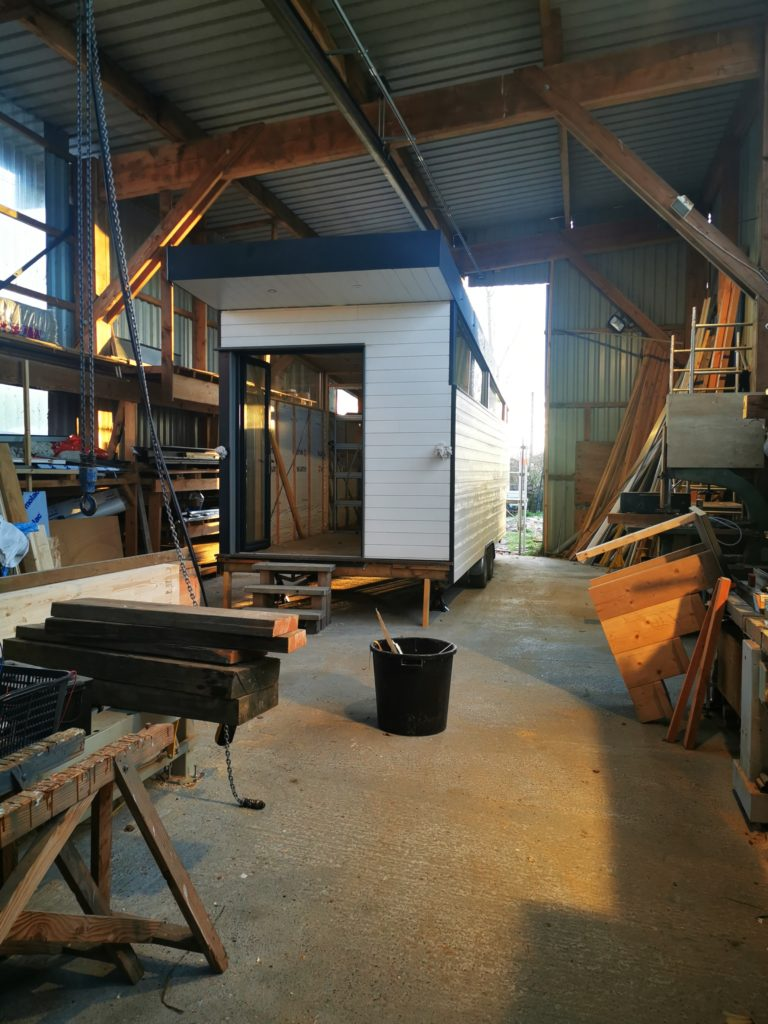 Atelier de construction de tiny house